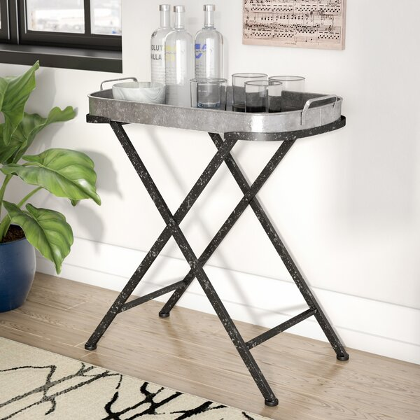 Allegany Iron Folding Tray Table by Trent Austin Design