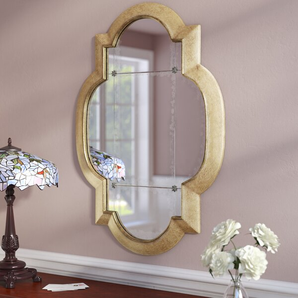 989ad787fc66 Gold Leaf Square Mirror
