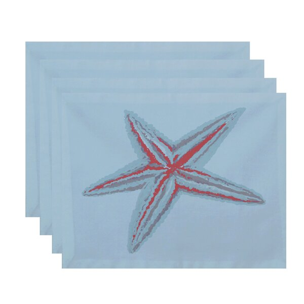 Delshire Decorative Placemat (Set of 4) by Beachcrest Home