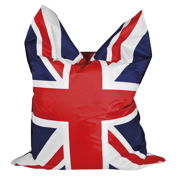 Union Jack Bean Bag by Latitude Run
