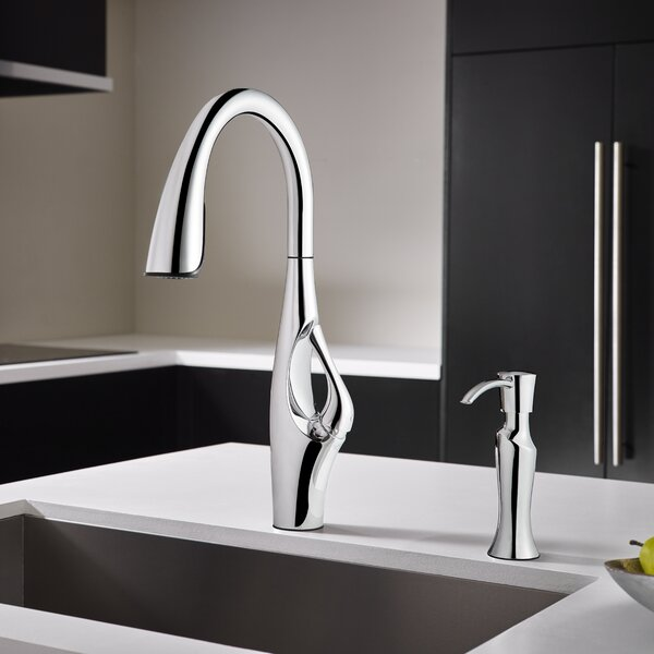 Kai Pull Down Single Handle Kitchen Faucet by Pfister