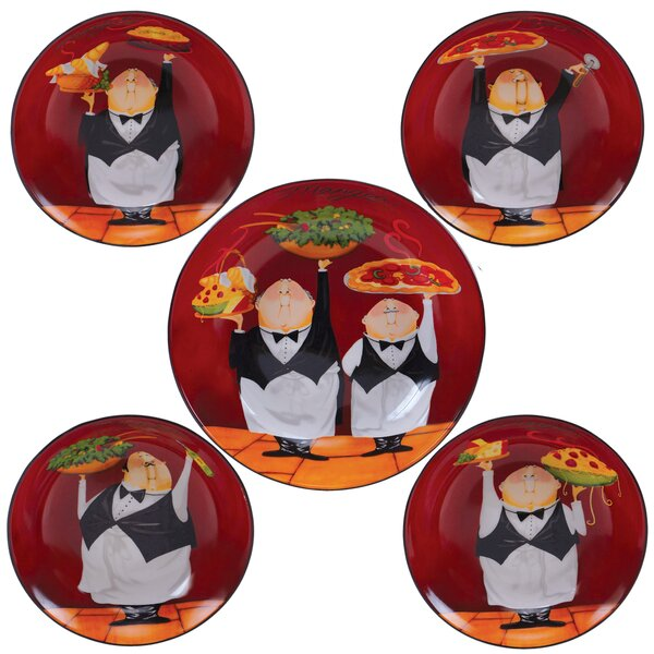 Waiters Pasta Bowl Set of 5 by Certified Internati