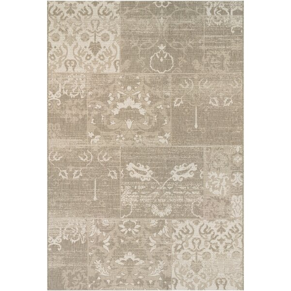 Argent Ivory Indoor/Outdoor Area Rug by Lark Manor
