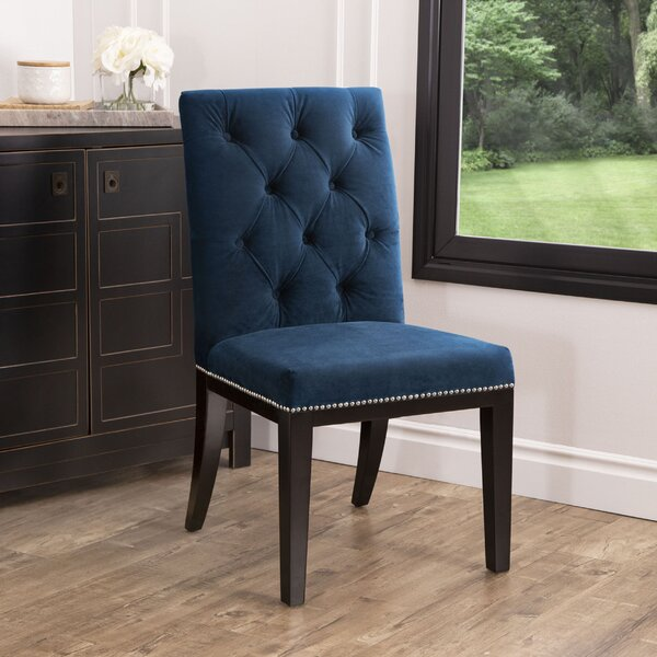 Ingersoll Upholstered Dining Chair by House of Hampton House of Hampton