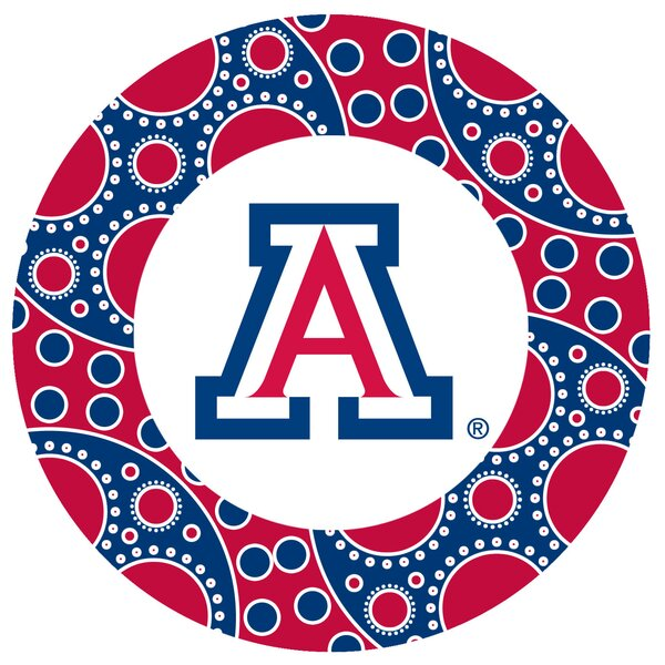 University of Arizona Circles Collegiate Coaster (Set of 4) by Thirstystone
