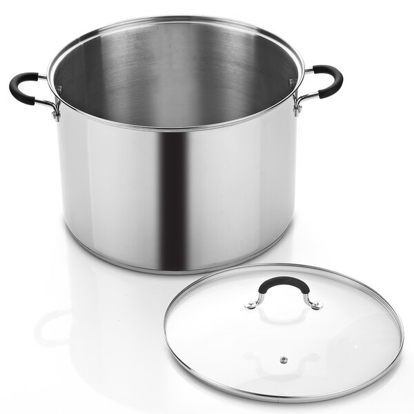Cook N Home 20-qt. Stock Pot with Lid by Cook N Home