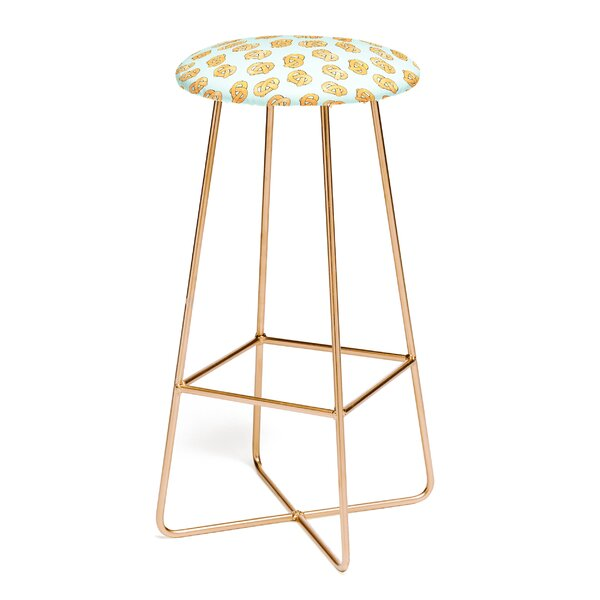 Hello Sayang Razzle Pretzel Dazzle 30 Bar Stool by East Urban Home