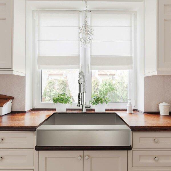 10 L x 20 W Undermount Kitchen Sink with Basket Strainer