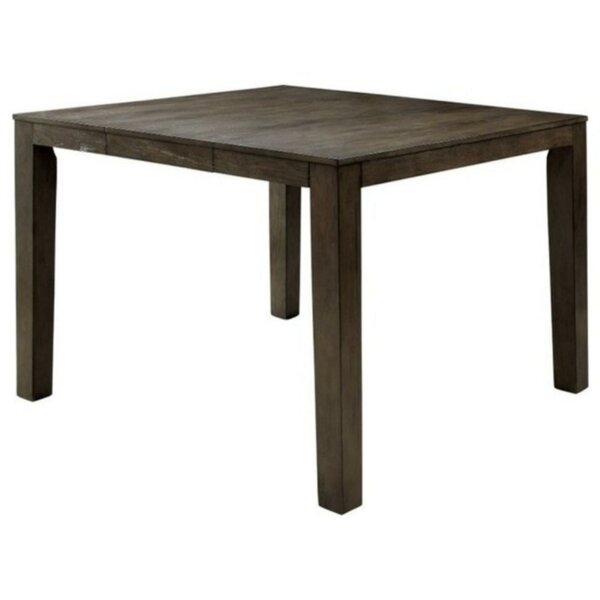 Procter Transitional Counter Height Solid Wood Dining Table by Winston Porter