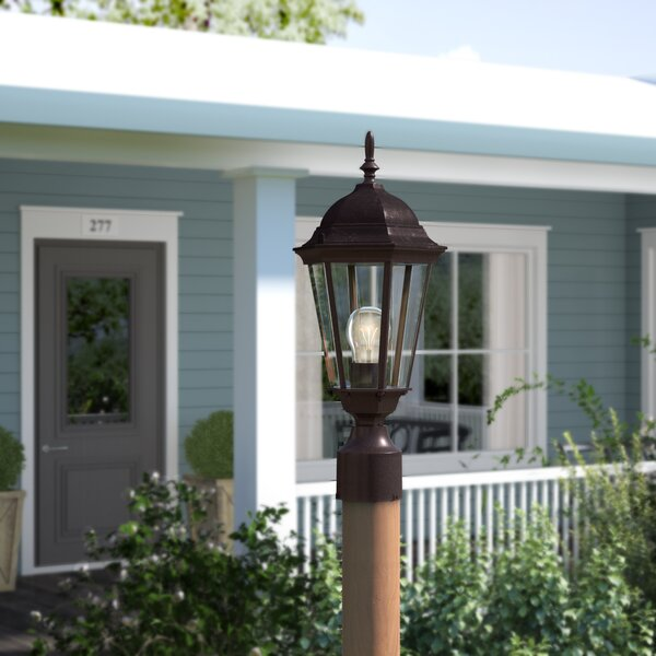 Rabana Modern Cast Outdoor 1-Light Lantern Head by Beachcrest Home