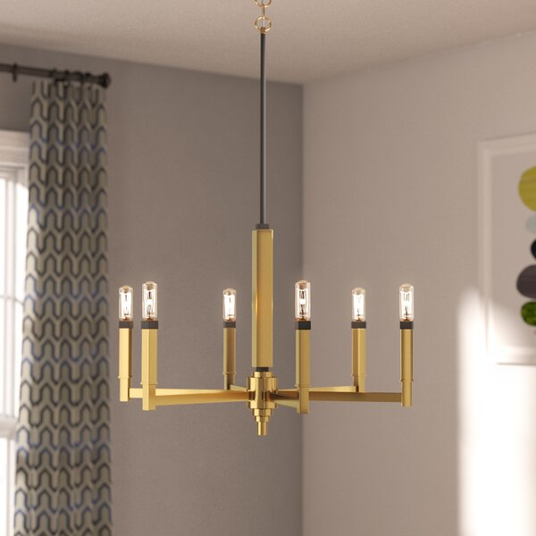 Pooler 6 - Light Candle Style Tiered Chandelier By Langley Street™