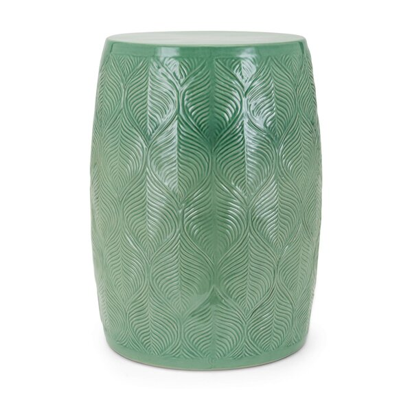 Mcclintock Ceramic Glazed Garden Stool by Bungalow Rose Bungalow Rose