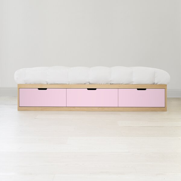 Zen Platform Bed with Drawers by Nico and Yeye