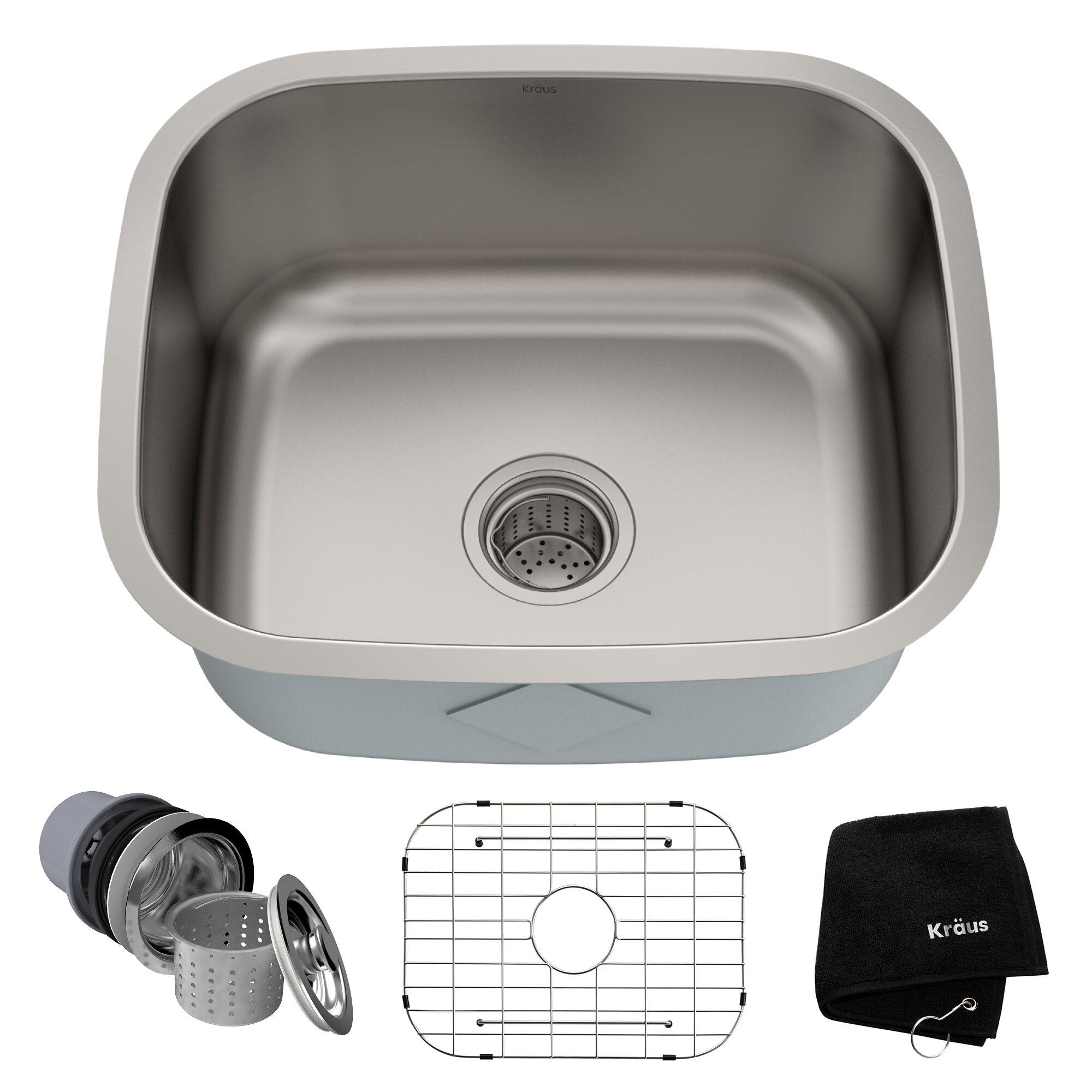 21 L X 18 W Undermount Kitchen Sink