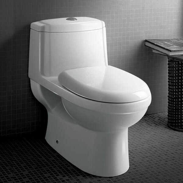 Platinum Anna Dual-Flush Elongated One-Piece Toilet (Seat Included) by Ariel Bath