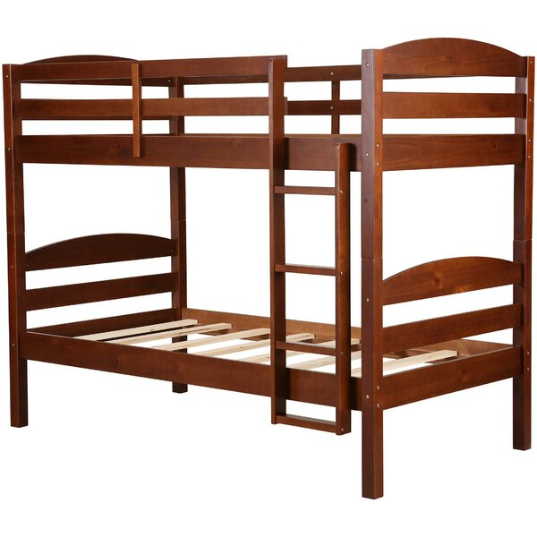 Lepore Wooden Bunk Bed by Harriet Bee