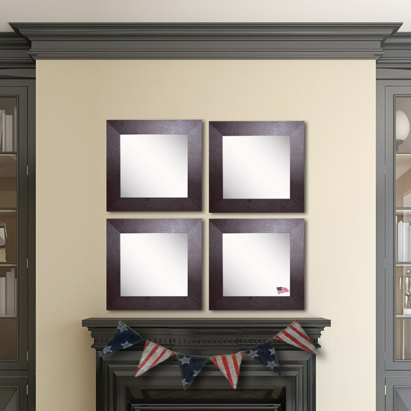 Waite Wall Mirror (Set of 4) by Ebern Designs
