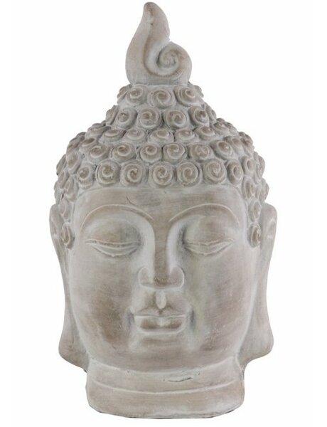 Schwerin Cemented Buddha Head with Pointed Ushnisha by World Menagerie