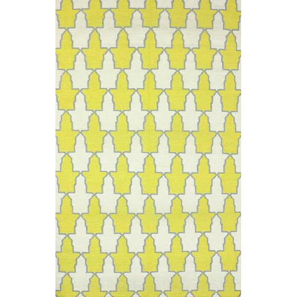 Remade Yellow Trina Rug by nuLOOM