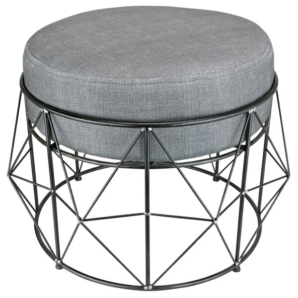 Geometric Modern Accent Stool by Design Toscano
