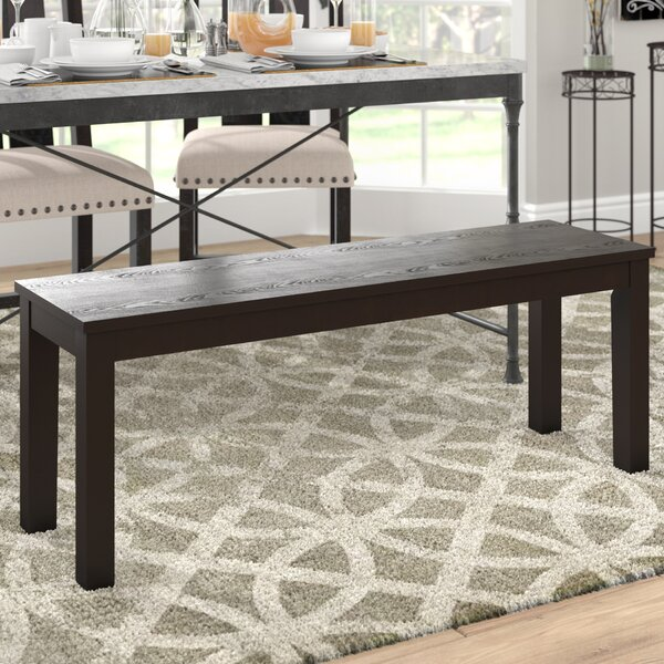 Chetna Simple Wood Dining Bench by Gracie Oaks