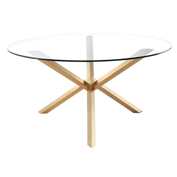 Feldmann Dining Table by Everly Quinn Everly Quinn