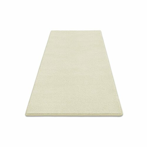 Future Tense Custom Velour Cream Rug Ebern Designs Rug Size: