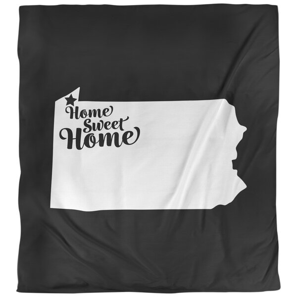 Home Sweet Erie Single Reversible Duvet Cover
