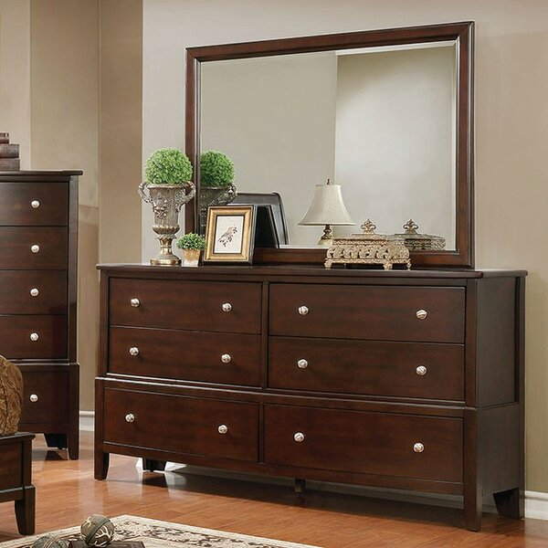 Cherie 6 Drawer Double Dresser by Canora Grey
