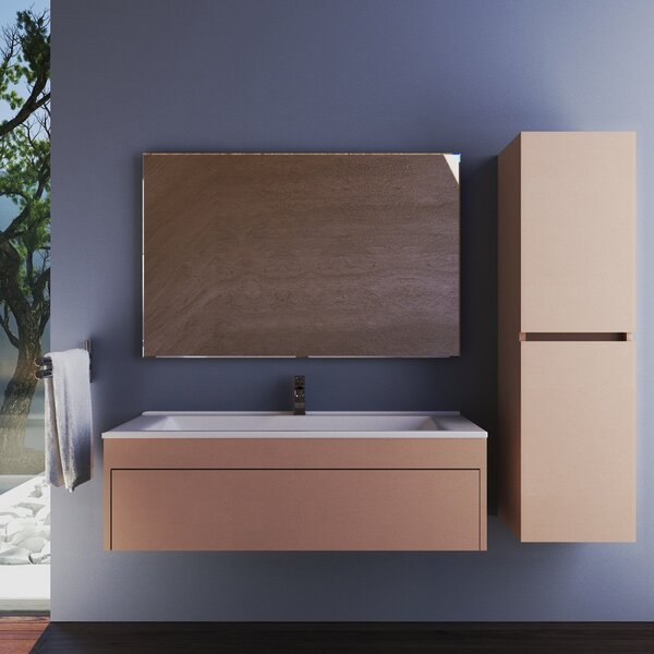 Wetherell 26 Single Bathroom Vanity Set with Mirror by Orren Ellis