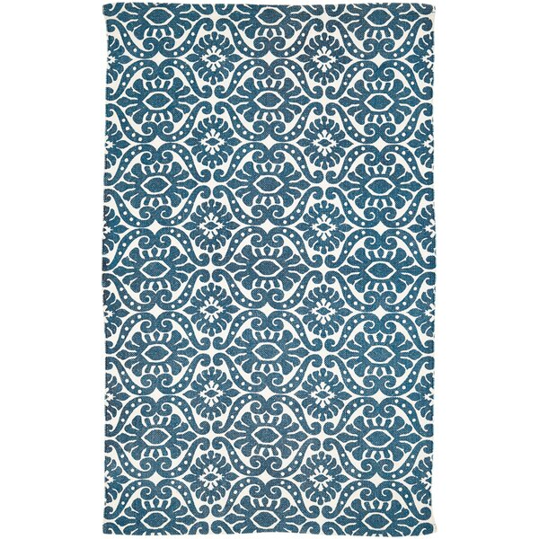Armagh Blue Area Rug by Bungalow Rose