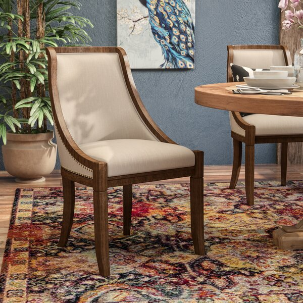 Dionte Upholstered Dining Chair by World Menagerie