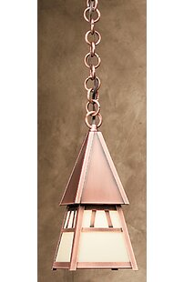 Price comparison Dartmouth 1-Light Outdoor Pendant By Arroyo Craftsman