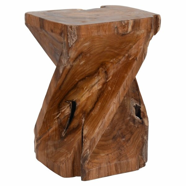 Forbay Teak Stool by Jeffan