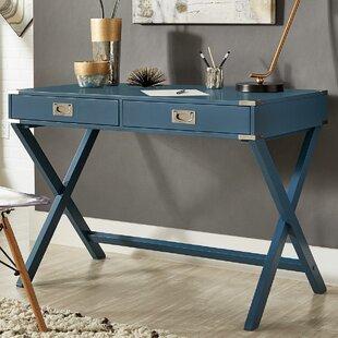 Turquoise Writing Desk | Wayfair