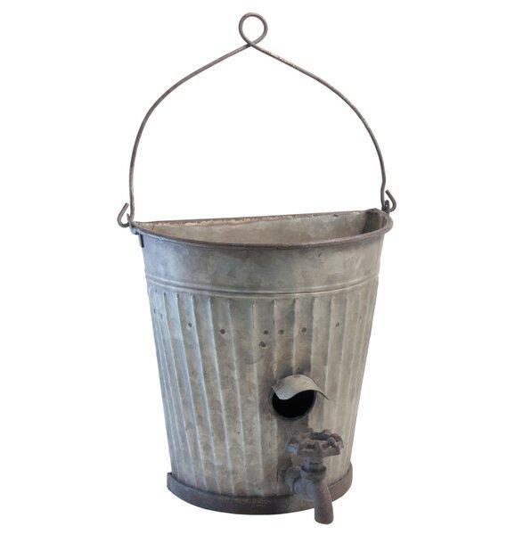 Fergerson Faucet Metal Pot Planter by August Grove