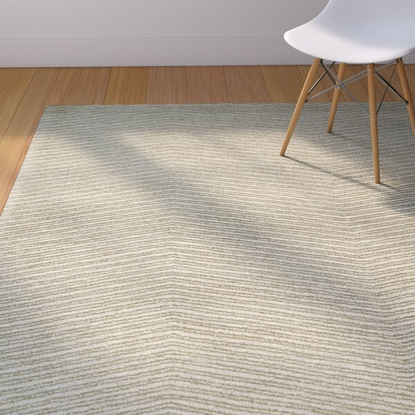 Caneadea Hand-Tufted Green Area Rug by George Oliver