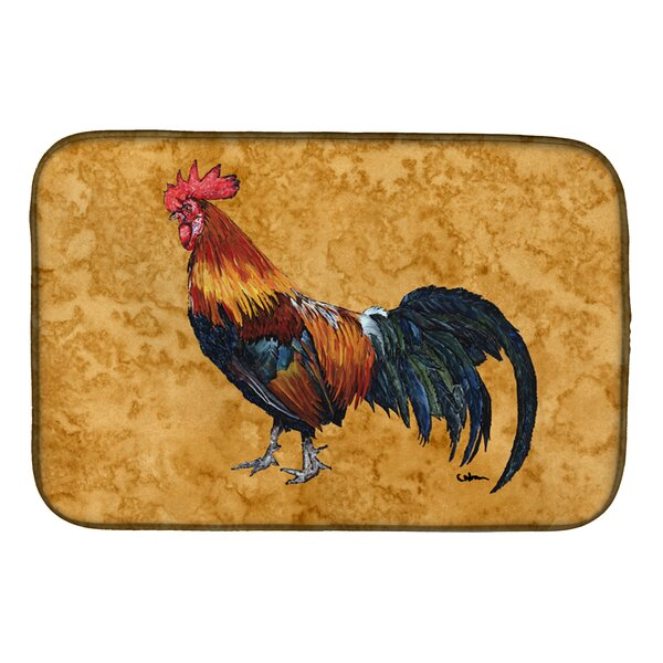 Rooster Dish Drying Mat by Caroline's Treasures
