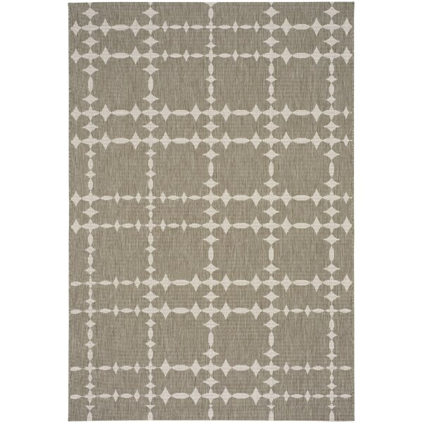COCOCOZY Elsinore Tower Court Wheat Indoor/Outdoor Area Rug by Capel Rugs