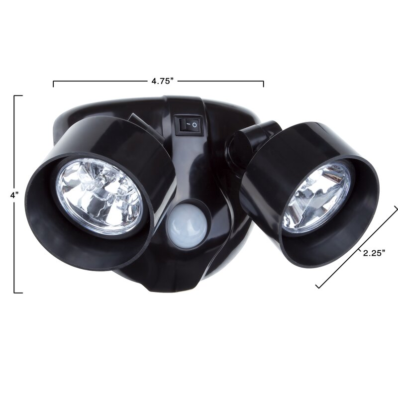 Everyday home motion activated 10 led security light reviews motion activated 10 led security light aloadofball Image collections