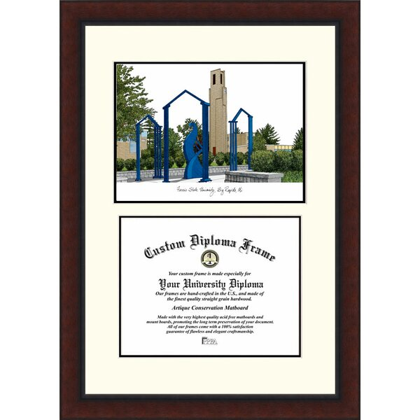 NCAA Ferris State University Legacy Scholar Diploma Picture Frame by Campus Images