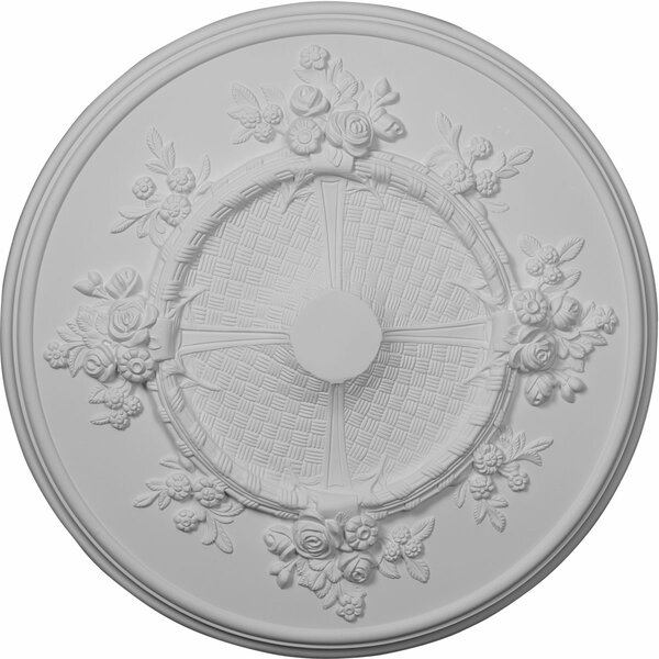 Flower 27H x 27W x 1 1/8D Ceiling Medallion by Ekena Millwork