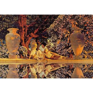 'Garden of Allah' by Maxfield Parrish Painting Print by Buyenlarge