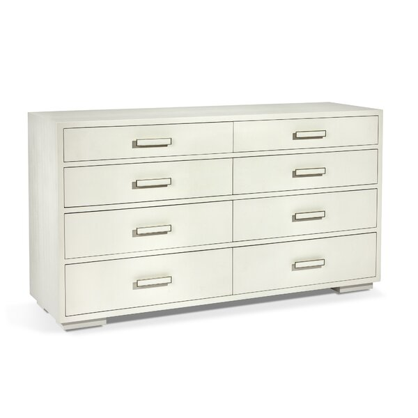 Portia Large 8 Drawer Double Dresser by Interlude