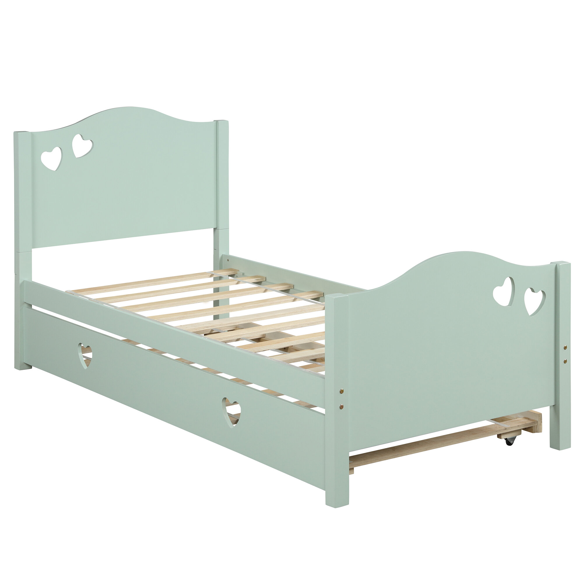 Thack Twin Convertible Toddler Bed