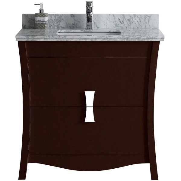 Bow 35.35 Single Bathroom Vanity Set by American Imaginations