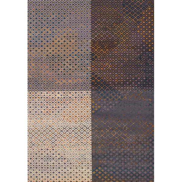 Duckworth Cream/Dark Gray Area Rug by Williston Forge