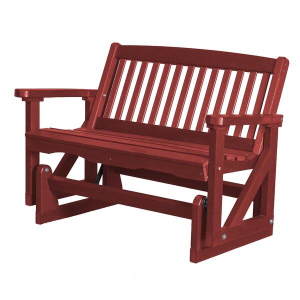 Sawyerville Mission Glider Chair by Laurel Foundry Modern Farmhouse