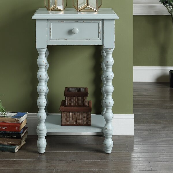 Statesboro End Table by Highland Dunes