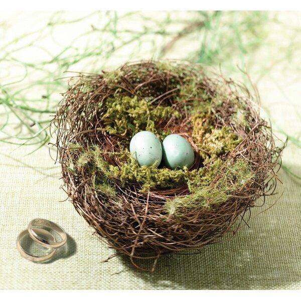 Moss Bird Nest Ring Holder by Lillian Rose